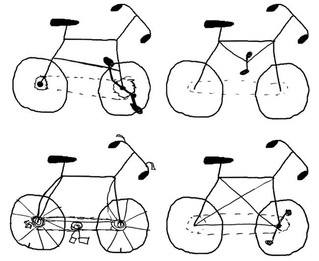 1-m4 badly drawn bikes