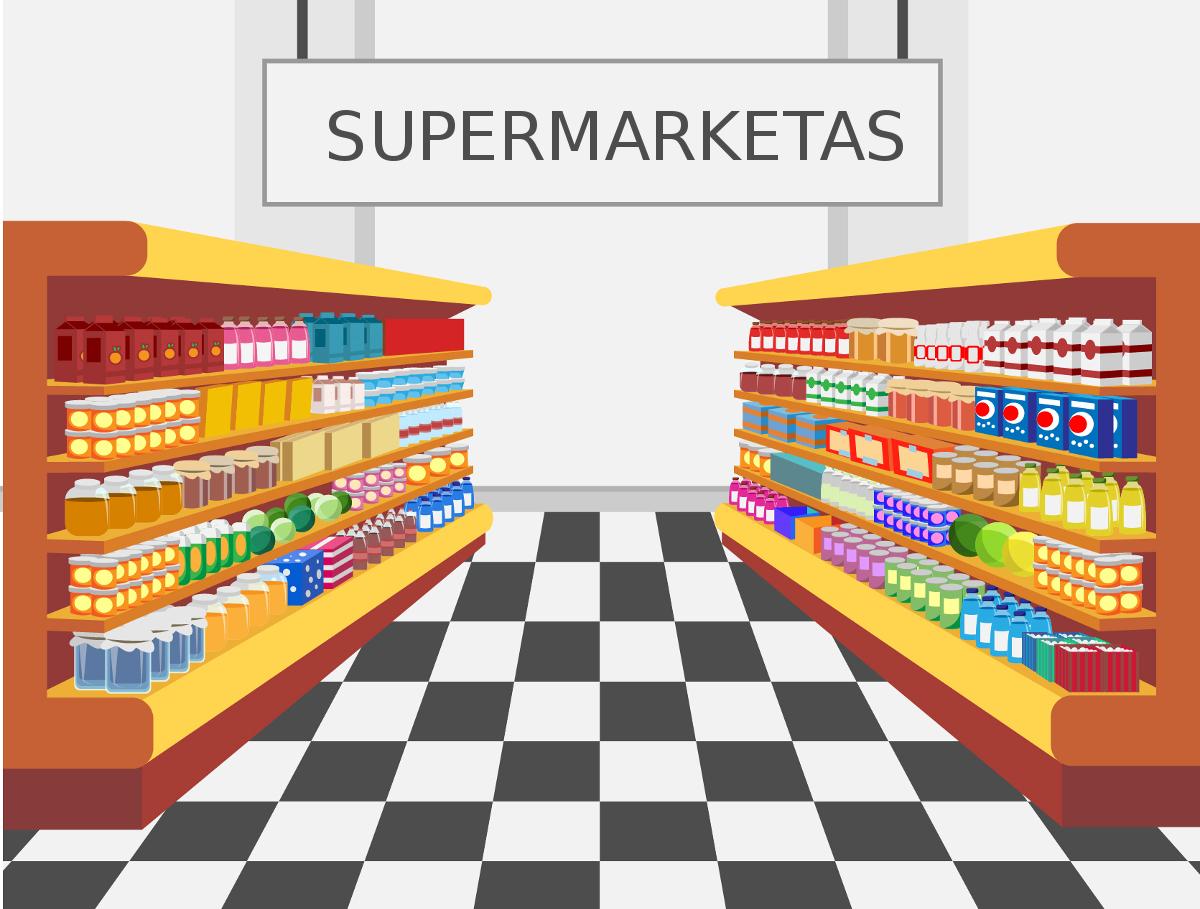 supermarketas