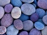 žydri akmeneliai