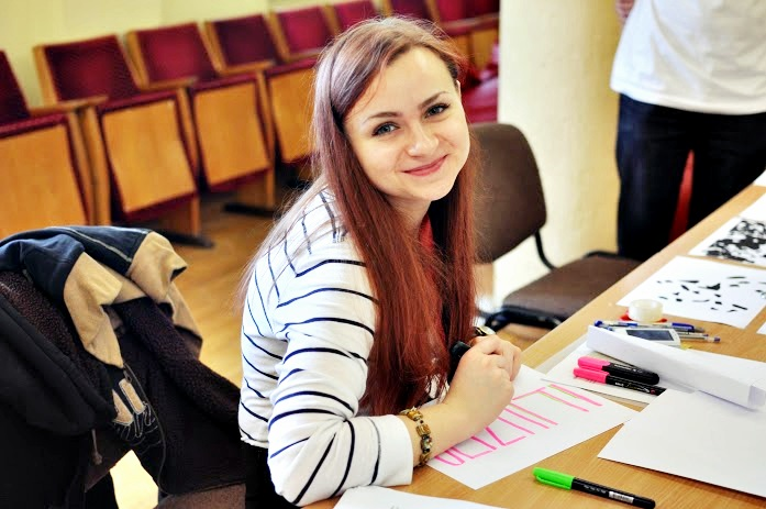 LEU III kurso psichologijos studentė G. Jucevič