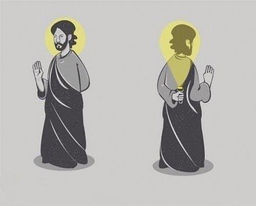 Netikras šventasis
