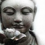 Buda su gėle