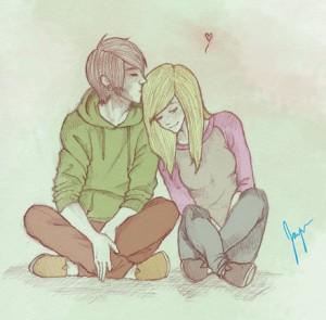 vaikinas ir mergina